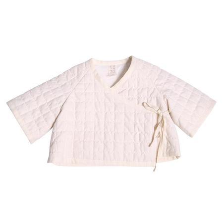 Tia Cibani Kids Baby Thermal Cocoon Jacket - Opal Cream