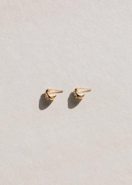 Jasmin Sparrow Seme Small Hoops - Gold