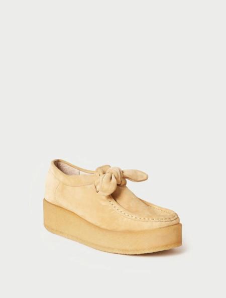Loeffler Randall Tabitha Knot Chukka Shoe - sand