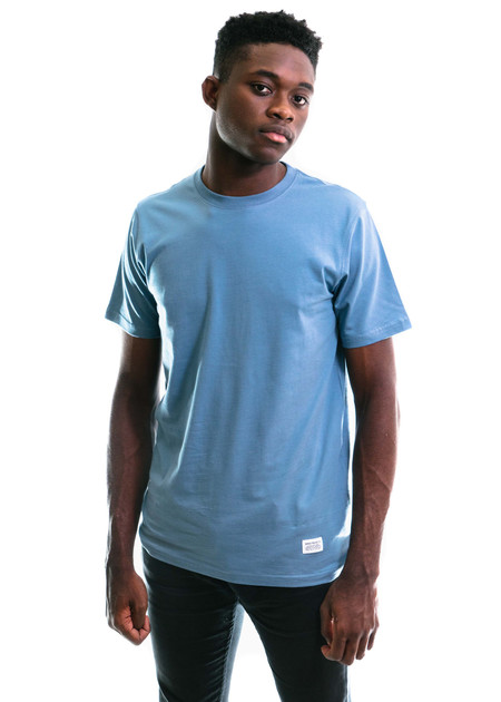 Norse Projects Niels Basic SS - Marginal Blue
