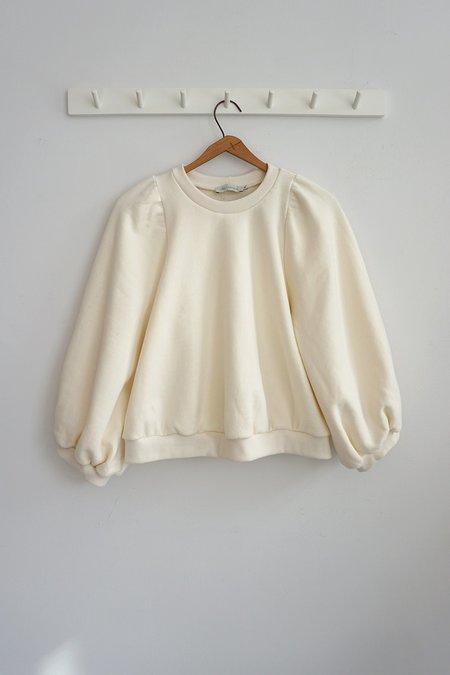 Ursa Minor Studio Flora Sweatshirt - Cloud