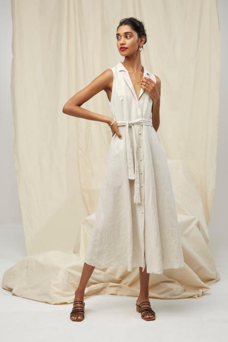 Lois Hazel Amalfi Dress - Sand