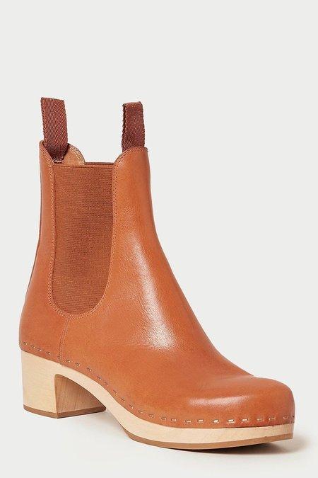 Loeffler Randall Anabelle Cognac Clog Boot - brown