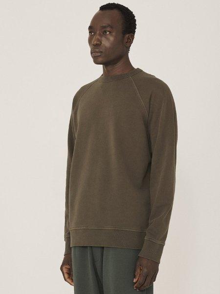 YMC Schrank Raglan Sweatshirt - Olive