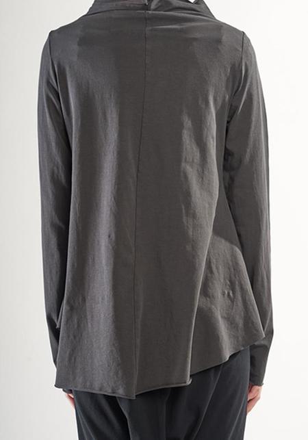 Rundholz Black Label High Layered Neck Long Sleeve T-Shirt