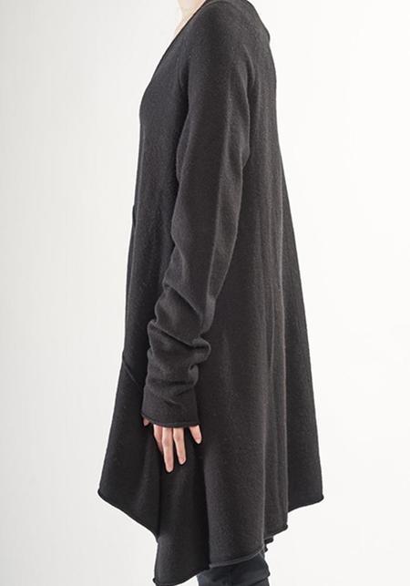 Rundholz Black Label Oversized Asymmetric Knit Pullover Tunic