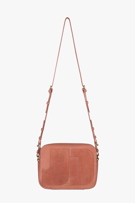 Jerome Dreyfuss Dominique Shoulder Bag in Rose
