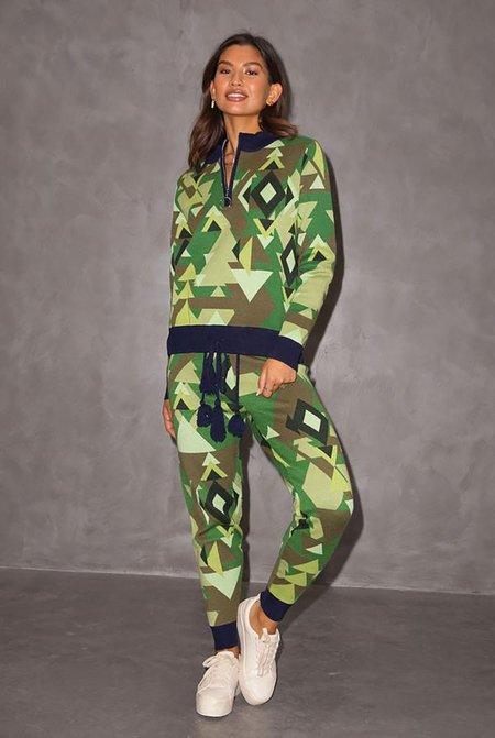 NEVER FULLY DRESSED Aspen Greens Zip Jumper