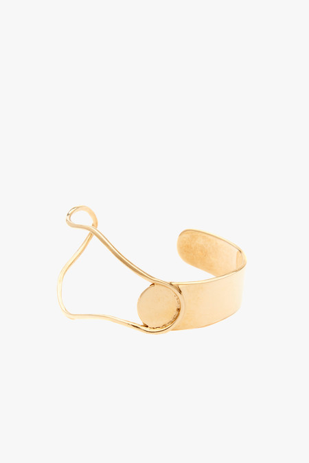 Odette New York Miro Cuff in Brass