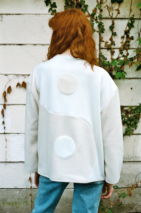 New GRÖN KULLE Noor Yin Yang Buff jacket