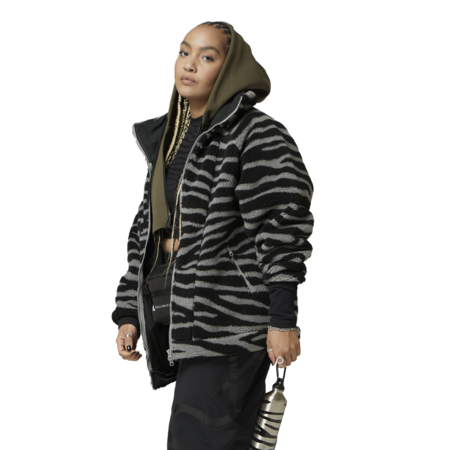 adidas by Stella McCartney Fleece Women H24064 Jacket - Dove Grey