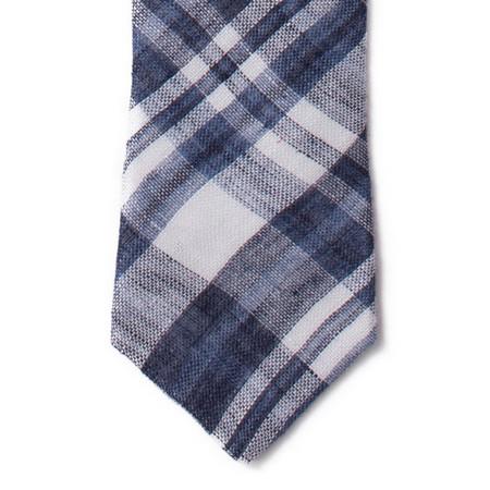 Corridor Indigo Linen Tie