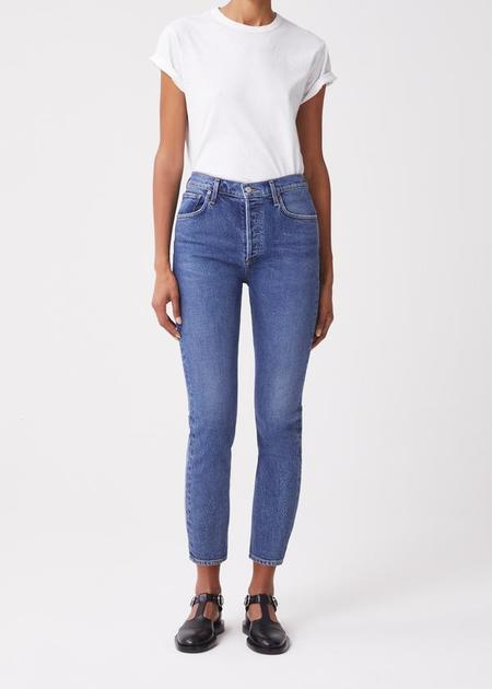 AGOLDE Riley High Rise Jeans - Transfer