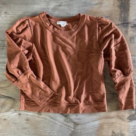 Pre-loved Apiece Apart Sweatshirt - terracotta