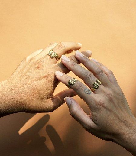 MAAARI LINGLINGO RING - Brass