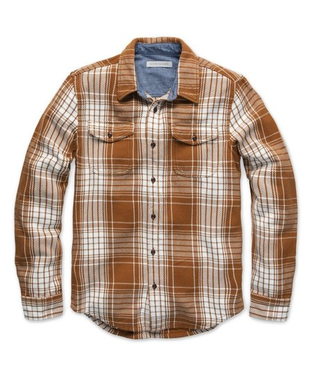 Outerknown Blanket Shirt - Cedar Bigbury Plaid