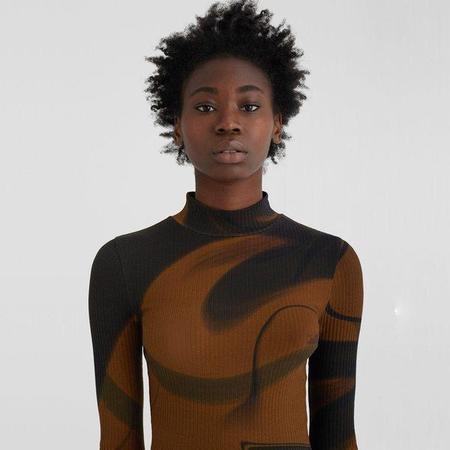 Paloma Wool Mila Long Sleeve Top - Brown