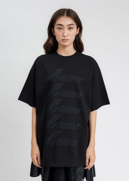 we11done WE11DONE Front Logo T-Shirt - Black
