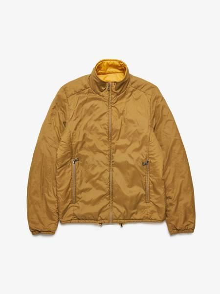 Prada M Yellow Khaki Reversible Nylon Jacket
