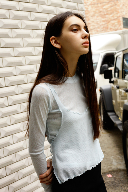 OUR Sway Sheer Top