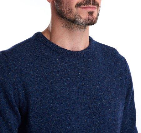 BARBOUR Tisbury Crew Neck Wool Sweater - Deep Blue