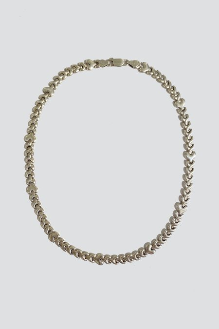 Assembly Sterling Silver Flat Puff Chain