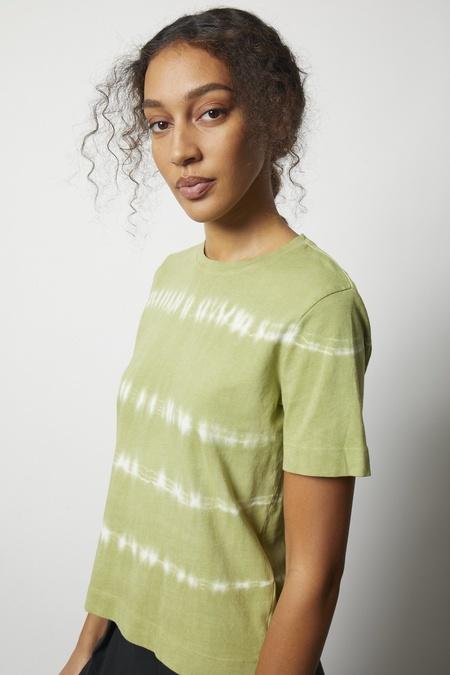 Raquel Allegra Fern Jersey Boy Tee - Fern Tie Dye