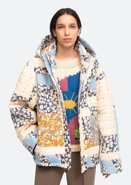 Sea NY Sydney Print Puffer Jacket - Multi