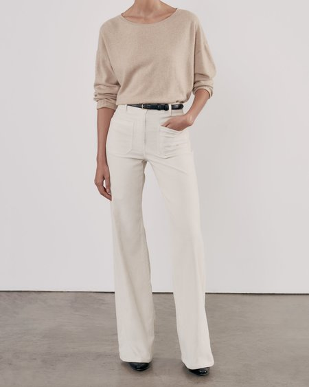 Nili Lotan Boyfriend Sweater - Oatmeal