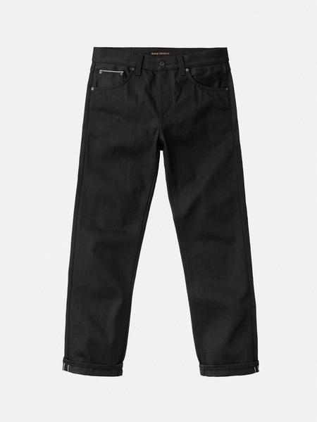 Nudie Jeans Gritty Jackson Rainbow Dry Selvedge denim - BLACK