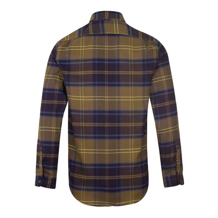 Paul Smith Button Down Check Shirt - Khaki