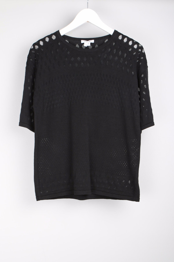 Helmut Lang Graphic Burnout Pullover