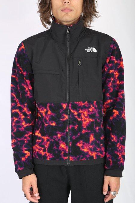 The North Face Denali 2 Jacket - Black Marble Camo Print