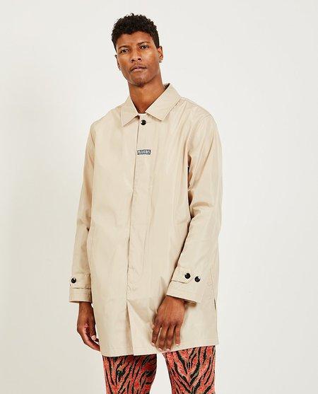 PLEASURES Delusion Trench Coat - khaki