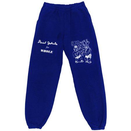 Unisex WHOLE You Shall Not Prevail Sweatpants - Cobalt Blue