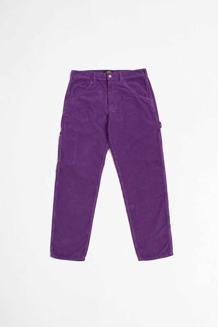 UNISEX Stan Ray Painter pants - purple cord
