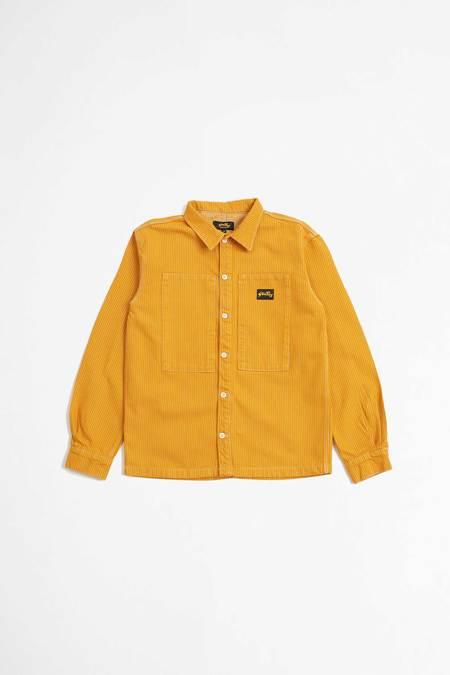 Stan Ray Prison shirt - orange/khaki hickory