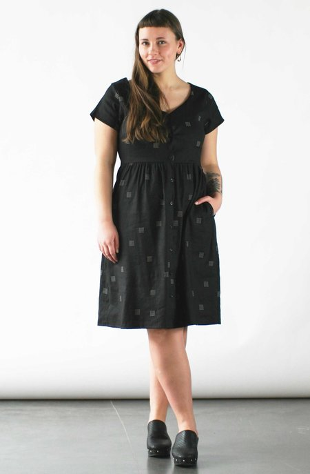 Make It Good Overview V-Neck Dress