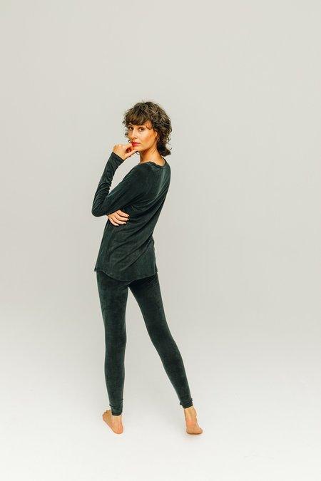 moya kala Cupro leggings -  graphite