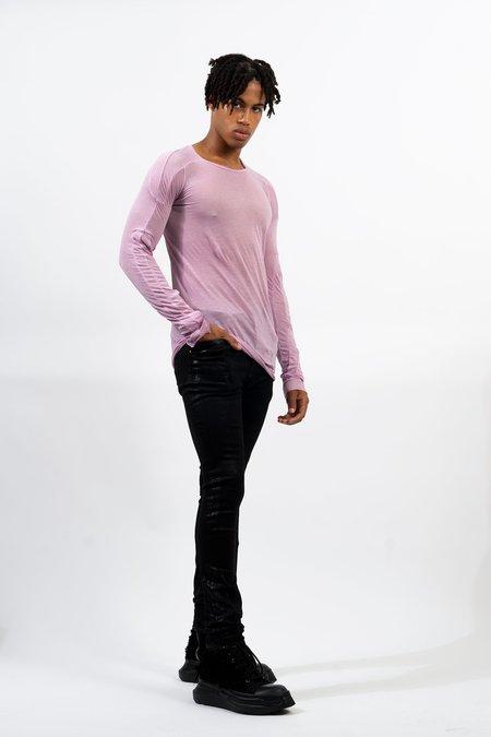 Rick Owens Tyrone Cut Jeans - Black Foil