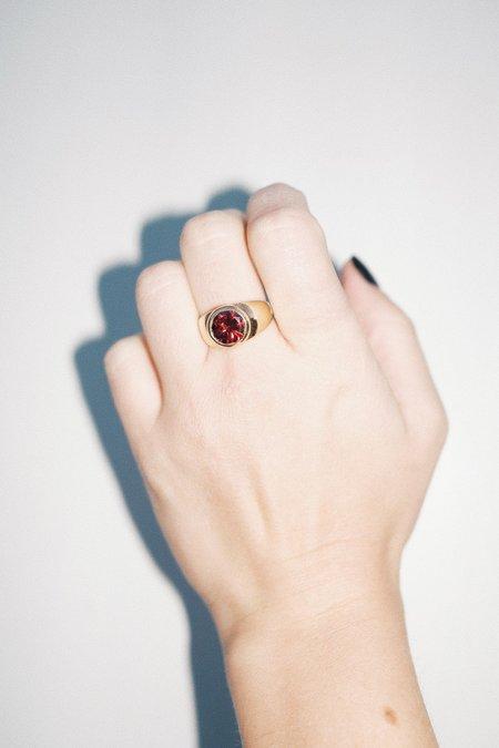 Unisex Luiny Mondrian Ring -  Red