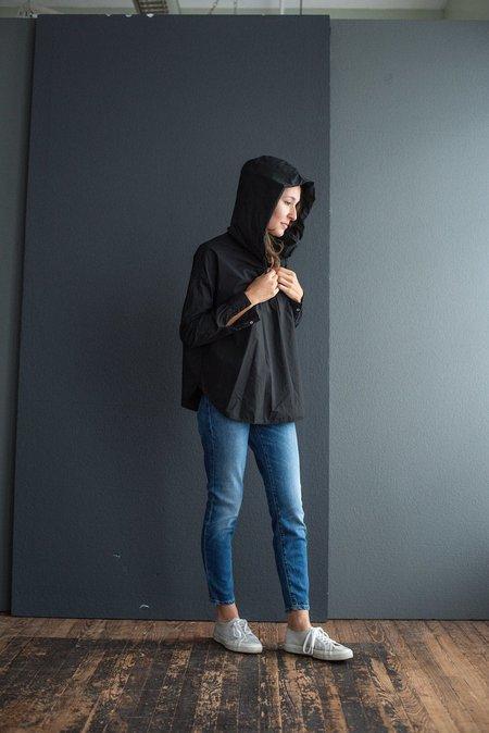 Album di Famiglia Hooded Shirt TS - Black