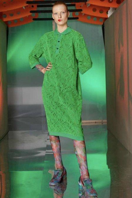 Henrik Vibskov Polo Lace Dress - Green