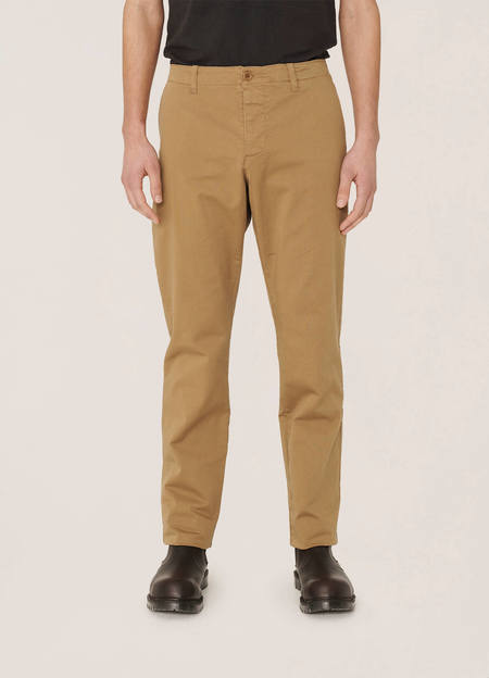 YMC  Deja Vu Cotton Twill Trousers - Camel