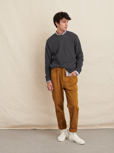 Alex Mill Garment Dyed Crewneck sweater - Washed Black