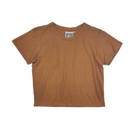 Jungmaven Cropped Ojai Tee - Copper