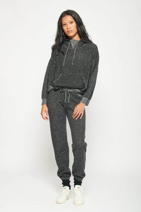 Two Tone Cashmere Hoodie