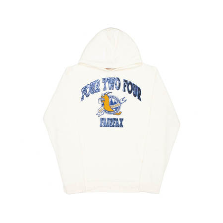 424 Hooded Sweater - Cream