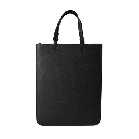 Maison Margiela Black leather bag-Black