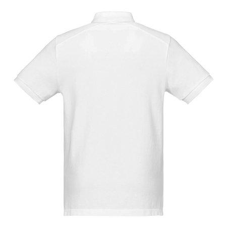 Ma Strum Pique Polo - White
